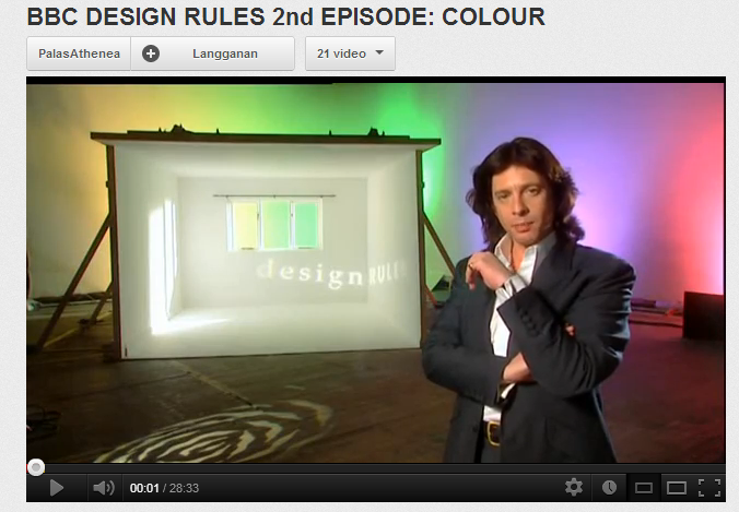 BBC DESIGN RULES 2nd EPISODE- COLOUR - YouTube