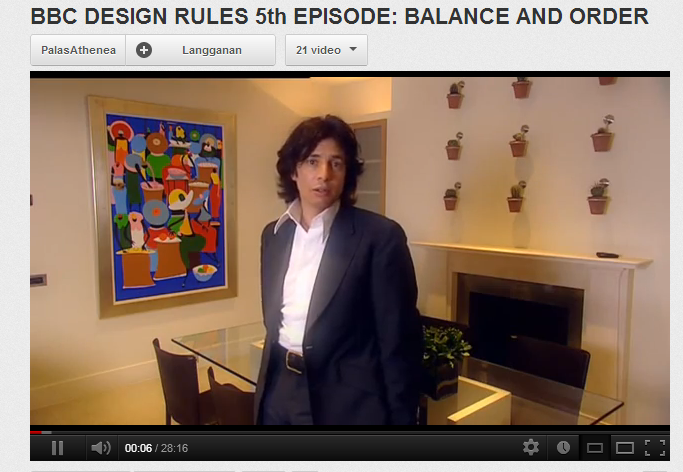 BBC DESIGN RULES 5th EPISODE- BALANCE AND ORDER - YouTube